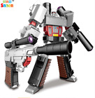 Fee shipping- Transformers Decepticons Megatron 15Cm Action Figure Toy Doll Gift