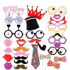 Adults Kids Photo Booth Props Birthday Party Supplies Funny Face Selfie Picture