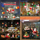 Merry Christmas Vinyl Wall Stickers Show Window Decals Happly New Year Decors Uk