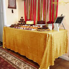 Square Rectangular Sparkly Sequin Tablecloth Wedding Birthday Dinning Table