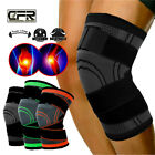 Knee Sleeve Compression Brace Patella Support Stabilizer Sports Gym Joint Pain A $8.99 USD on eBay