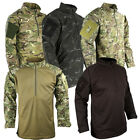 BRITISH ARMY STYLE UBACS SHIRT MTP MULTICAM REINFORCED ELBOWS PCS TACTICAL FLEEC