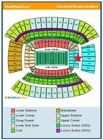 Browns vs Bengals NICE DAWG POUND Tickets (2) 12/23/2018