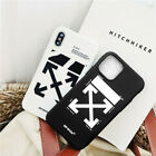 iPhone 6S 7 8 X 10 11  Black White For OFF WHITE Soft Phone Case Cover 2019 Hot