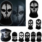 Внешний вид - NEW Skeleton Ghost Skull Face Mask Biker Balaclava Call Of Duty COD Costume Game