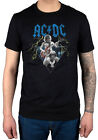Official AC/ DC Angus & Brain T-Shirt Dirty Deeds Back In Black High Voltage