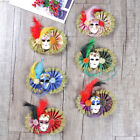 Wall Hanging Mask Ornament Venetian Style Pendant Masquerade Prop Party Decor