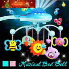 Baby Musical Crib Mobile Bed Bell Toys Hanging Rattles Stars Light Flash JIE
