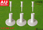 Rubber Golf Tees Winter Range Driving Mat 3 Pack 1.5'' 2.0'' with 6 Castle Tees