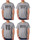 2019 New Years Eve Gray T-shirt  4 styles