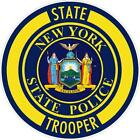 New York State Trooper Reflective Vinyl Decal Sticker Nypd Ny State Police