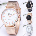 Luxury Geneva Women Watch Stainless Steel Analog Quartz Wristwatch Gift for Her image