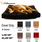 Pet Dog Cat Bed Cover Soft Puppy Cushion Mat Replacement Washable Slipcover