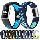 Breathable Silicone Sports Soft Band for Fitbit Charge3 Watch Strap Replacement image