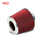 New 110cc 125cc Angled Red Moto Double Foam Pod Cleaner Car Air Filter