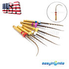 USA EASYINSMILE X-Pro Gold Taper NITI Endo Rotary Files 6pcs Endodontic Files