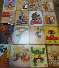 "Cartoon Themed Metal Tin Signs. 12.5"" x 16"".  Reproductions. Many to choose $12.99 USD on eBay"