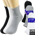 Lot 3-12 Pairs Mens Health Circulatory Diabetic Cotton Ankle Quarter Socks 9-15 $10.25 USD on eBay