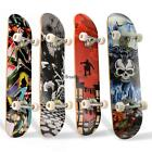 Professional Adult Skateboard Complete Wheel Truck Maple Deck Solid Longboard,US image