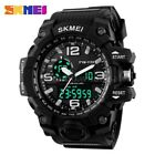 Army Waterproof Sport Men's Watches Boys LED Quartz Analog Digital Wrist Watch