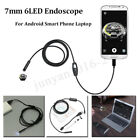 1.5M 6LED 7mm Endoscope Micro USB Camera Borescope For Android Smart Phone