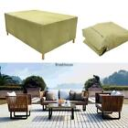 Rectangular Outdoor Patio Table Chair Cover Furniture Storage BRCE 01
