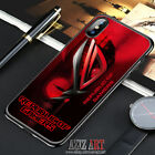New Red76ROG90Design Cover iPhone 7 8 X XR XS XS Max Samsung Galaxy S7 8 9 Case