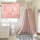 Baby Kids Bedding Round Dome Bed Canopy Netting Bedcover Mosquito Net Curtain