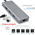 USB Classification C Hub Dongle Multiport Adapter for MacBook PC PD Charging 4K HDMI LOT
