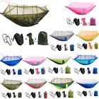 Portable Outdoor Camping Hammock Travel Ultralight Nylon Sky Tent Mosquito Net
