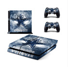 NFL Dallas Cowboys PS4 Skin Sticker Decal Vinyl Console 2 controllers skins $12.9 USD on eBay