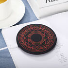 10W Fast Glowing Magic Array Qi Wireless Fast Charger for iPhone Samsung Huawei