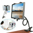 For iPad Samsung Tablet Flexible Arm Rotable Desktop Bed Lazy Holder Mount Stand