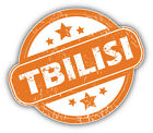 Tbilisi Grunge Rubber Travel Stamp Car Bumper Sticker Decal - 3'', 5'' or 6''