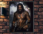 AQUAMAN 2018 JASON MOMOA - A4 PORTRAIT OR LANDSCAPE SIGNED PHOTO PRINT