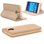 New Slim Luxury Leather Stand Stylish Wallet Card Case Cover for Mobile Phone