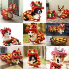 Pet Dog Lion-Dance Dragon Dance Clothing Puppy Chinese New Year Style Costume