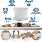 Memory Foam Knee Leg Pillow Bed Cushion Hips Support Pain Relief Orthopaedic US image