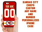 KANSAS CITY CHIEFS CUSTOM PHONE CASE FOR IPHONE XS MAX XR 4S 5 5C 6S 7 8 PLUS $15.94 USD on eBay