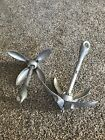NEW 2 PACK 3 LB GRAPPLING ANCHORS GRAPNEL FOR PWC DECOYS LONG LINE GANG RIGS 3LBDecoys - 36249