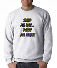 Long Sleeve T-shirt Unique Sleep All Day Party All Night