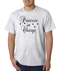 Bayside Made USA T-shirt Princess in Charge