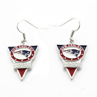 NFL - New England Patriots Team Logo Earrings With 925 Sterling Silver J Hooks on eBay