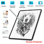 Paper-Like Anti Glare Matte PET Screen Protector Cover for iPad pro 9.7 11 10.5