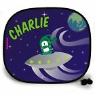 EARTH INVASION OUTTA THIS WORLD PERSONALISED CAR SUN SHADE Window birthday gift