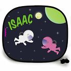 SPACE MARCH OUTTA THIS WORLD PERSONALISED CAR SUN SHADE Window birthday gift