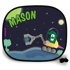 Sci-Fi MINER OUTTA THIS WORLD PERSONALISED CAR SUN SHADE Window birthday gift