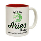 Funny Mugs - it's a Aries Thing - Birthday Gift Present Age Related NOVELTY MUG