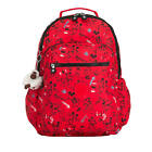 Kipling Disney's Minnie Mouse And Mickey Mouse Seoul Go Large Laptop Backpack