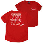 FB Womens Running Tee - Sweat Like A Pig - V Neck Dry Fit Performance T-Shirt